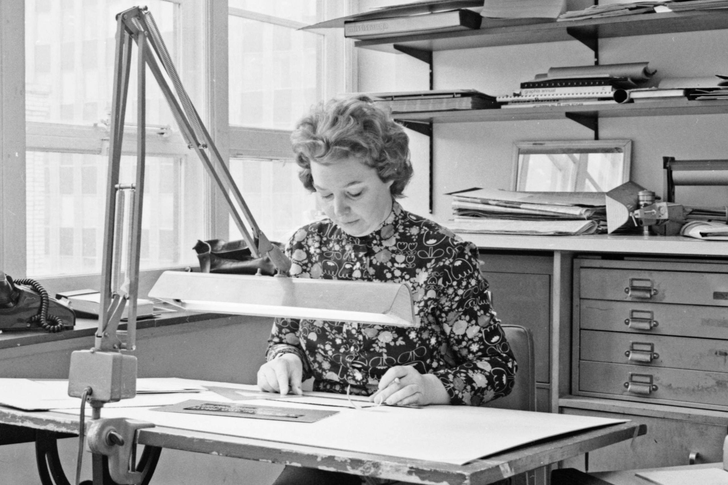 Margaret Stewart, shown in 1974.